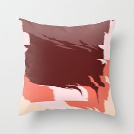 Fall Abstract Throw Pillow