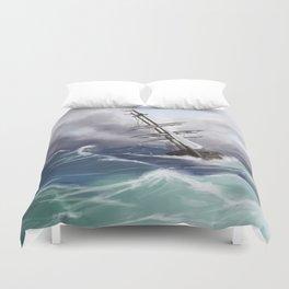 Sail the Seven Seas Duvet Cover
