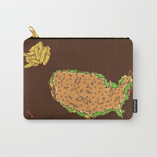 United Tastes of America Carry-All Pouch