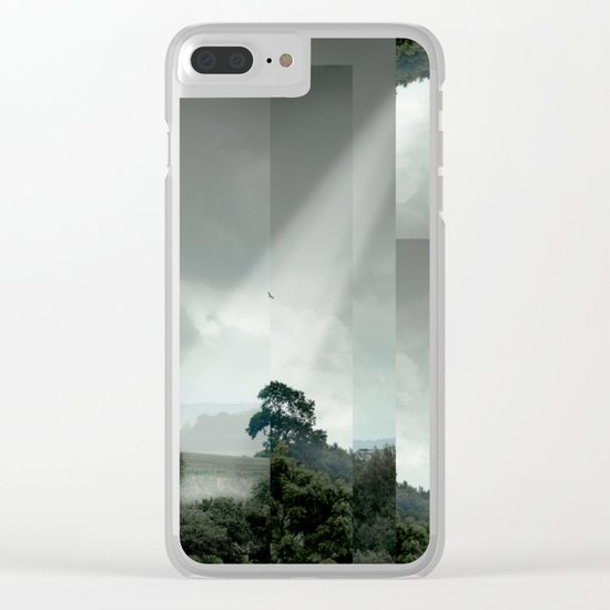 Gillingham Chopped Clear iPhone Case