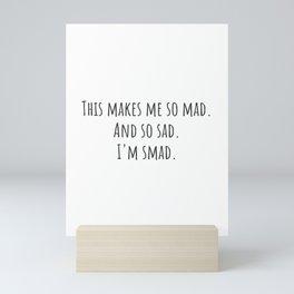 Smad Mini Art Print