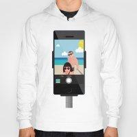 selfie Hoodies featuring Selfie? by Chiara Belmonte