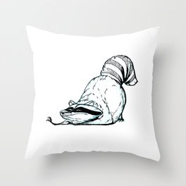 World's #1 Trash Throw Pillow
