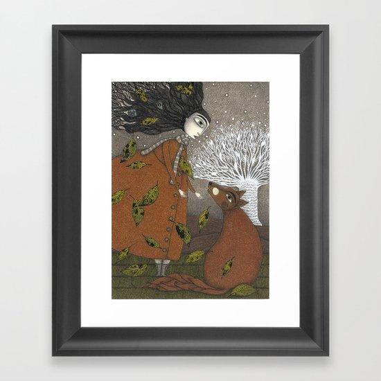 After Dusk Framed Art Print