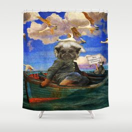 Non Judgment Day is Coming Shower Curtain