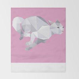 Exotic Shorthair Cat. Throw Blanket