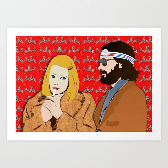 MARGOT AND RICHIE Kunstdrucke