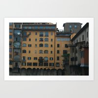 florence Art Prints featuring Florence by constarlation