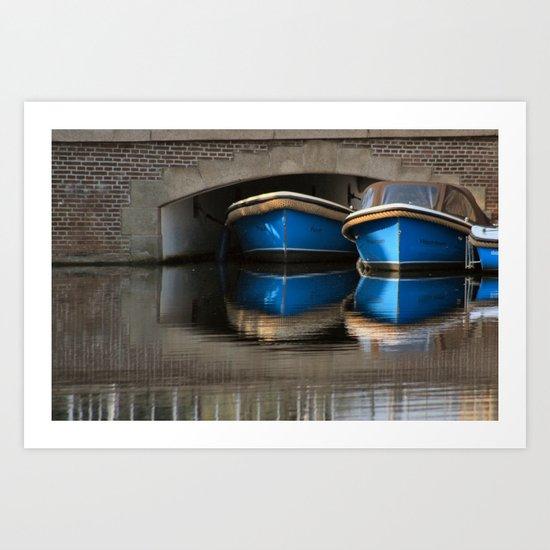 Wet Dreams of Amsterdam Art Print