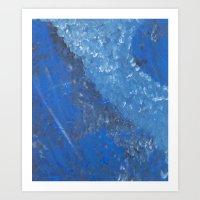 Sea of Blue Art Print