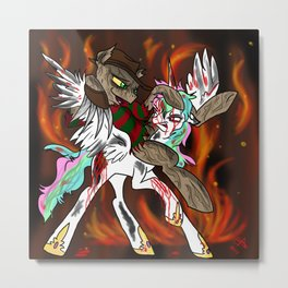 Celestia's Nightmare  Metal Print