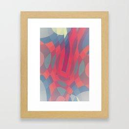 Soft Pressure Framed Art Print