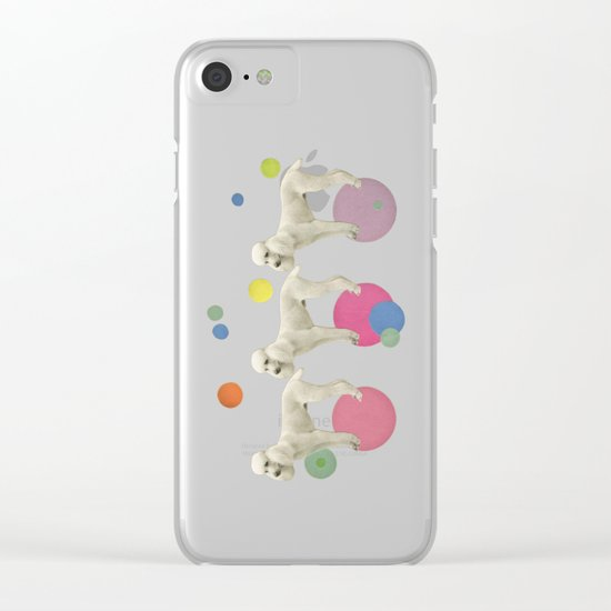 Oodles of Poodles Clear iPhone Case