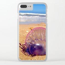 Brazilian Jellyfish Clear iPhone Case