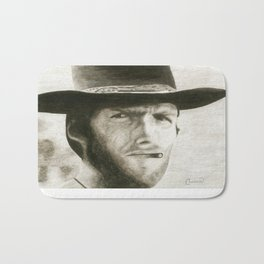 The Man With No Name Bath Mat