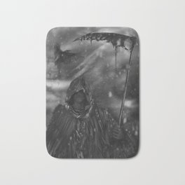 The Reaping Raven Bath Mat