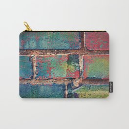 The Rainbow Brick Wall Carry-All Pouch