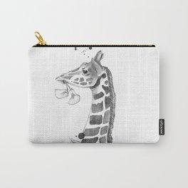 The Quiet Giraffe Carry-All Pouch