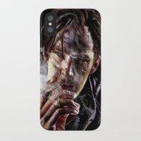 benedict cumberbatch iPhone & iPod Cases featuring benedict cumberbatch by jiyounglee0711