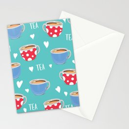 Love Tea Stationery Cards