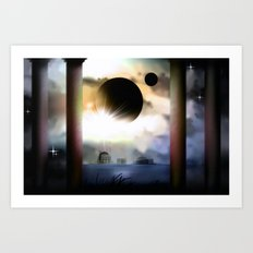 On a exosolar world. Art Print
