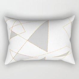 Duo of Triangles Rectangular Pillow