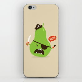 Pear-ate a.k.a The Angry Pirate iPhone Skin