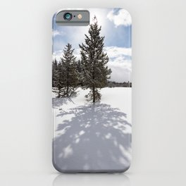 Gardners Hole, Yellowstone National Park iPhone Case