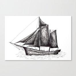 Sail away! Canvas Print