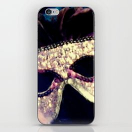 Mardi Gras Mask iPhone Skin