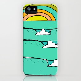 pineapple fields and endless summer vibes iPhone Case