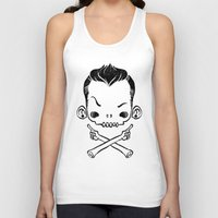 rebel Tank Tops featuring Rebel by saimen
