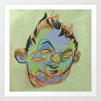 sketch Art Prints featuring Sketch by robotrake
