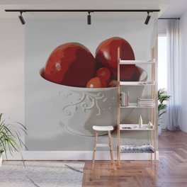 Tomatoes in Bowl | Still Life | Food Photography | Nadia Bonello Wall Mural
