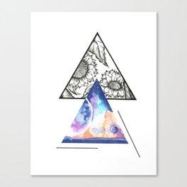 Reality v. Dreams Canvas Print