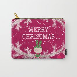 Merry christmas and happy new year 12 Carry-All Pouch