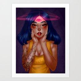 magical girl Art Print