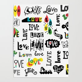 More Love Words Poster