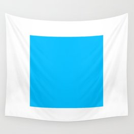 Blue Square Wall Tapestry