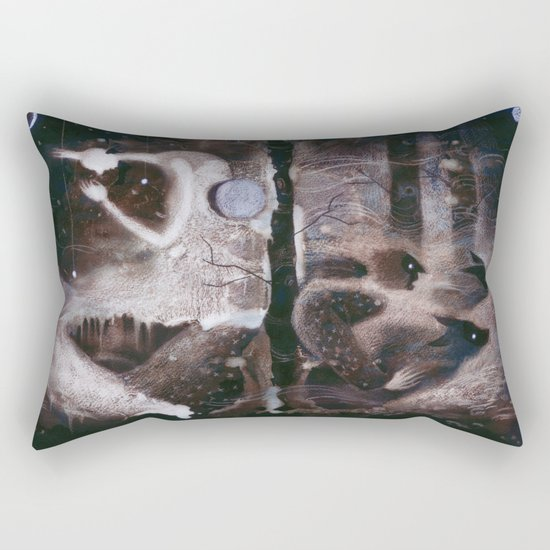 Moon Magic Rectangular Pillow