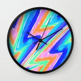heyK's night rainbow accessoires - stay positive Wall Clock