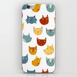 Many Cats iPhone Skin