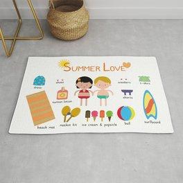 Summer Love Rug