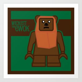 Wickett Art Print