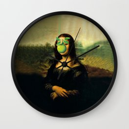 GIOCONDA MAGRITTE Wall Clock