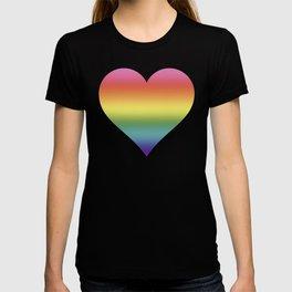 Pride Rainbow Flag Gradient T-shirt
