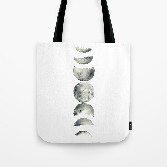 moon phases Tote Bag