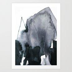 abstract form Art Print