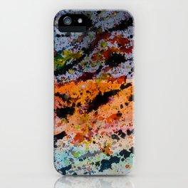Colores y Manchas iPhone Case