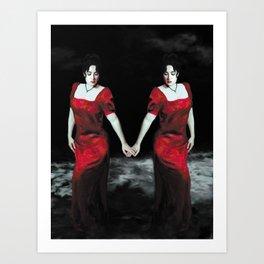 Suicide Pact Art Print
